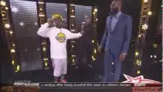 getlinkyoutube.com-funny Kevin Hart at NBA Celebrity all star weekend 2013 HD Hilarious LOL houston