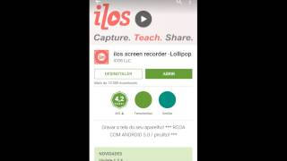 getlinkyoutube.com-Como grava a tela do celular sem root #2015