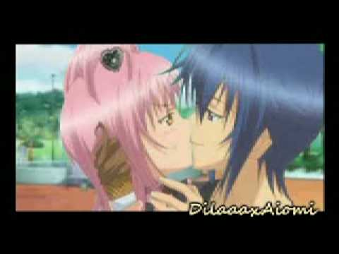 Ikuto And Amu Kiss Scene Ikuto And Amu Kiss Scene Amuto