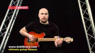 getlinkyoutube.com-A Gunshot To The Head Of Trepidation - Trivium Intro Guitar Lesson With Andy James
