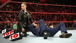Top 10 Raw moments: WWE Top 10, February 26, 2018