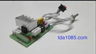 getlinkyoutube.com-Регулятор TDA1085. Сборка платы за 40 секунд.