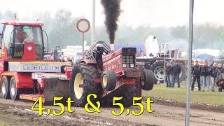 getlinkyoutube.com-Füchtorf 2015 - 4.5t + 5.5t Sport Klasse Tractor Pulling Dieselpower