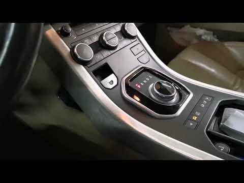 Ремонт шайбы переключения передач Range Rover Evoque