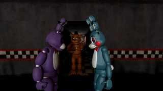 getlinkyoutube.com-[SFM] FNAF - Staring Contest! - Bonnie VS Toy Bonnie!