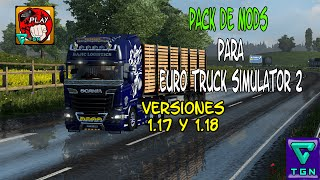 getlinkyoutube.com-Euro truck simulator 2 | 1.17, 1.18, 1.19 y 1.20 | Pack mods + tutorial