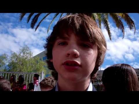 Joel Courtney at the 2011 MTV Movie Awards