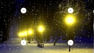 "getlinkyoutube.com-Волшебная музыка зимы. ""Падал снег"" Music Sergey Chekalin. Very beautiful music!"