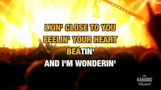 """getlinkyoutube.com-I Don't Want To Miss A Thing in the Style of """"Aerosmith"""" karaoke video with lyrics (no lead vocal)"""