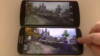getlinkyoutube.com-Nexus 5 vs Galaxy s4+ GT I9506 snapdragon 800 ESPAÑOL