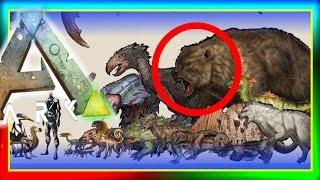 getlinkyoutube.com-ARK Dinosaur SMALLER Size Comparisons!  (New ARK: Survival Evolved Artwork) Dino Sizes Chart!