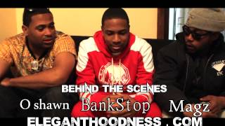 OSHAWN JAMES AND MAGZ A MILLION INTERVIEW BANKSTOPS ELEGANT HOODNESS