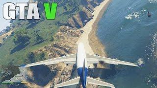 getlinkyoutube.com-GTA 5 MOD Michael Crash Landing