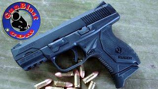 getlinkyoutube.com-Shooting Ruger's NEW American Compact 9mm Semi-Automatic Pistol - Gunblast.com