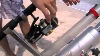getlinkyoutube.com-The Sand Blaster Bait Caster! The future in surf fishing!