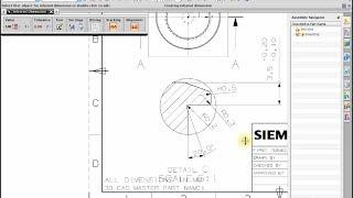 getlinkyoutube.com-How to make Drafting (drawing 2D)  NX 7.5