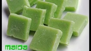 getlinkyoutube.com-Maida burfi recipe