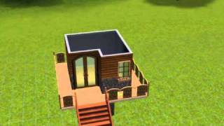 The sims 3: Forest House