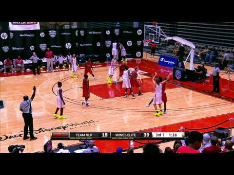 2012 AAU Boys Basketball 11th DI Final: Arkansas Wings vs Team NLP