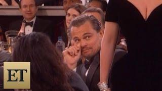 flushyoutube.com-Leonardo DiCaprio's Reaction to Lady Gaga's Golden Globes Win is Absolutely Priceless