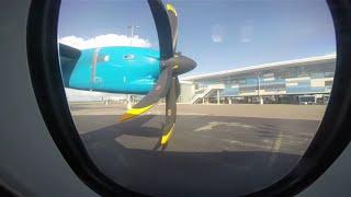 getlinkyoutube.com-Bahamasair ATR 42-600 Taxi and Takeoff MYNN Nassau | GoPro HD
