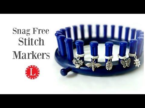 LOOM KNITTING Snag Free Stitch Markers