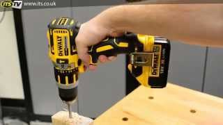 getlinkyoutube.com-Dewalt DCD795 T1 18v Brushless XR Lithium-ion Hammer Drill Driver - ITS