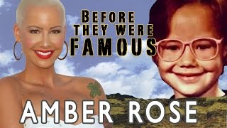 getlinkyoutube.com-Amber Rose - Before They Were Famous