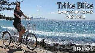 "getlinkyoutube.com-Trike Bike 24"" Aluminium Trike - A day at the beach www.trike-bike.com.au"
