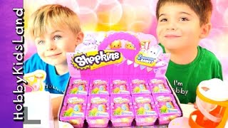 55 Shopkins Blind Baskets! Season 1 Surprise Toys HobbyKidsLand