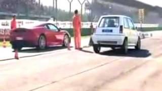 R5 GT Turbo     VS     Ferrari F430 (HUMILIATION)