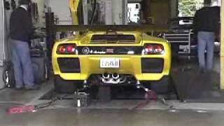 getlinkyoutube.com-Lamborghini Diablo 6.0 GTR at Dyno Day