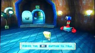 getlinkyoutube.com-Let's Play SpongeBob Battle for Bikini Bottom Part 5 How and Robots Break the Sea Needle?