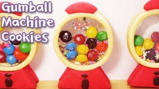 getlinkyoutube.com-데구르르@@ 풍선껌 머신 쿠키 만들기 ! ガムのガチャクッキー!! How to make Gumball machine cookies [스윗더미 . Sweet The MI]