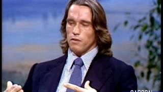 getlinkyoutube.com-Arnold Schwarzenegger: Women Can Weightlift to Get Fit, Part 1 Johnny Carson