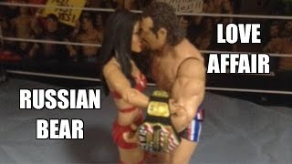 getlinkyoutube.com-RUSEV GETS A NEW GIRLFRIEND!!! FUNNY WWE Figure Pics and Poses! MATTEL Wrestling Toys