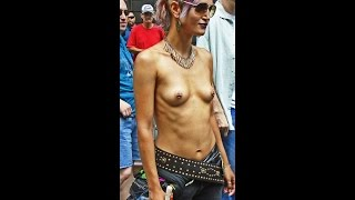 getlinkyoutube.com-Topless Parade in New York Part II filmed on Sunday August 23, 2015