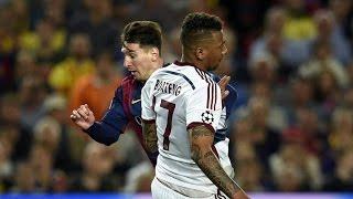 getlinkyoutube.com-Lionel Messi HumiIates Jerome Boateng Barcelona vs Bayern Munich UCL HD