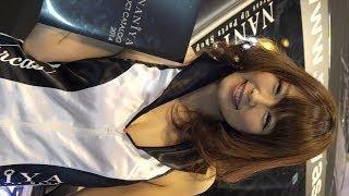 getlinkyoutube.com-ミニスカコスチュームにメロメロ!笑顔が素敵なキャンギャルさん