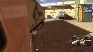 getlinkyoutube.com-Euro Truck Simulator 2 parking technique