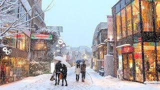 getlinkyoutube.com-Tokyo Snow 2014 - 雪の東京