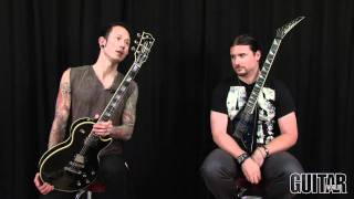 getlinkyoutube.com-Trivium: 'In Waves' Video Lesson - Gear Discussion