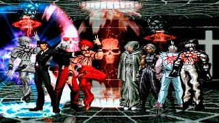 getlinkyoutube.com-Kof Mugen ¡Súper Bosses Battle!