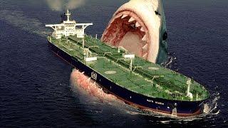 getlinkyoutube.com-Największy Rekin Świata - MEGALODON - 2014 [ HD ]