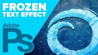 getlinkyoutube.com-How to Create Disney's Frozen Text in Photoshop