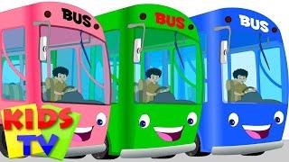 getlinkyoutube.com-Wheels On The Bus | Nursery Rhymes For Kids And Childrens | Baby Songs