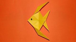 getlinkyoutube.com-How To Make An Origami Fish 01