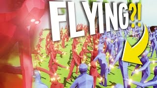 getlinkyoutube.com-ALL NEW UNITS.. INCLUDING FLYING?? | Totally Accurate Battle Simulator (TABS Open Alpha Update)