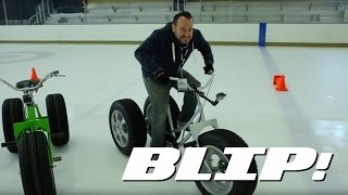 getlinkyoutube.com-Here's Why You Need Winter Tires As Shown By A Tricycle