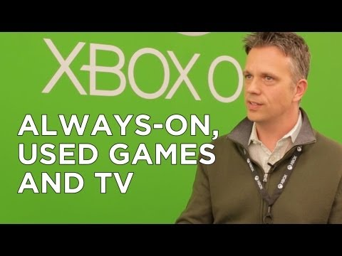 Microsoft Responds: Xbox One's DRM, Always-Online, and Focus on TV/Games - Adam Sessler Interview
